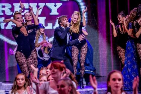 2018.8.26 Revy Galla i CIrkusbygningen, TV Charlie - til Arkiv